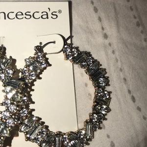 Francesca's Collections Jewelry - Jeweled hoops